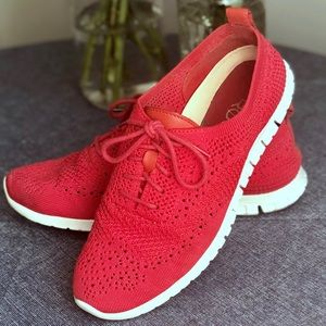 Cole Haan Zerogrand Oxford, Red, Size 7.5